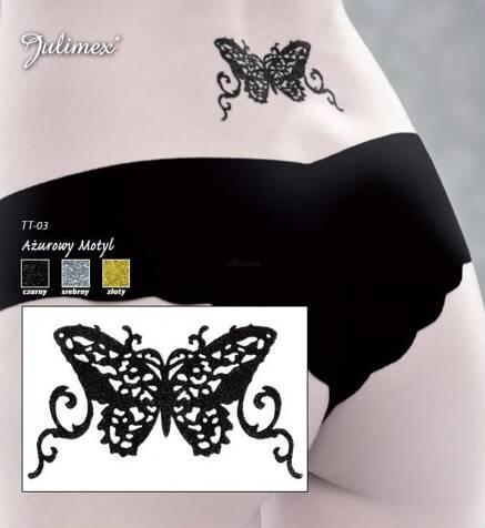 Tatuaż Tt 03 Ażurowy Motyl